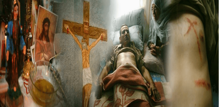 Apparition miraculeuse de Jesus en Syrie / stigmates VIDEO